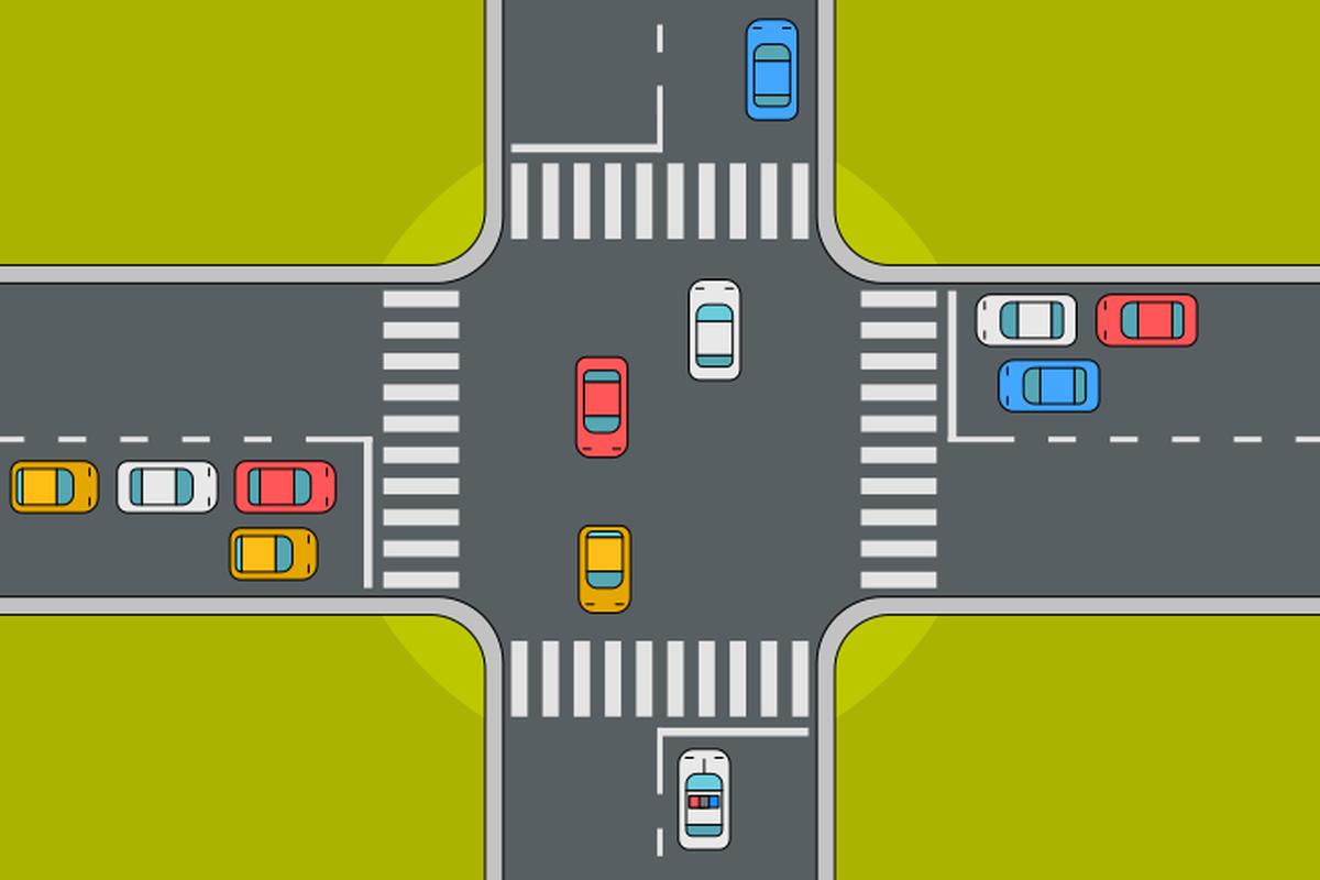 Картинки дороги перекресток